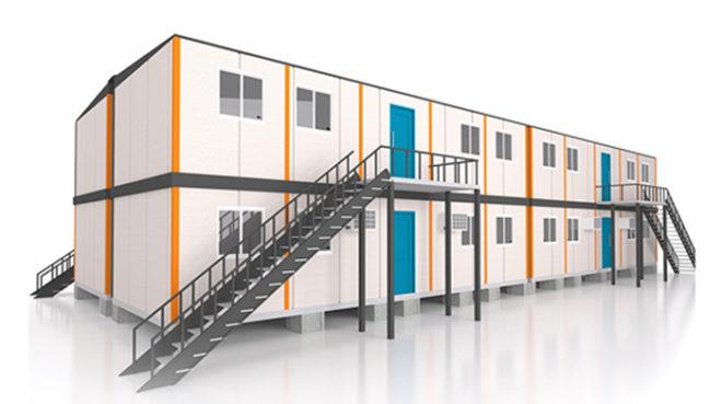Alojamento em container: uma solução prática