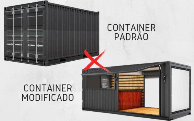 Container padrão ou modificado?