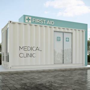 Ambulatório médico em container: conheça suas vantagens
