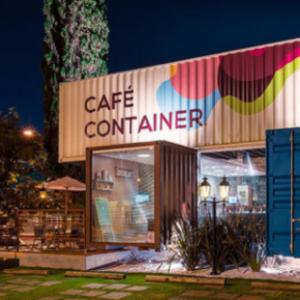 Cafeteria em container – Ofereça conforto e estilo para seus clientes