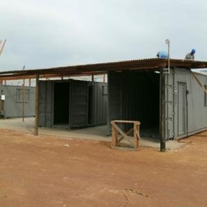 Container gera economia para obras