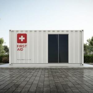 Covid-19: soluções em container
